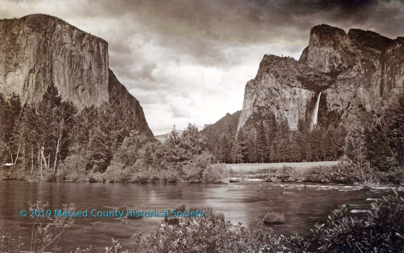 Gates of the Valley, Yosemite by Arthur Pillsbury, circa 1920