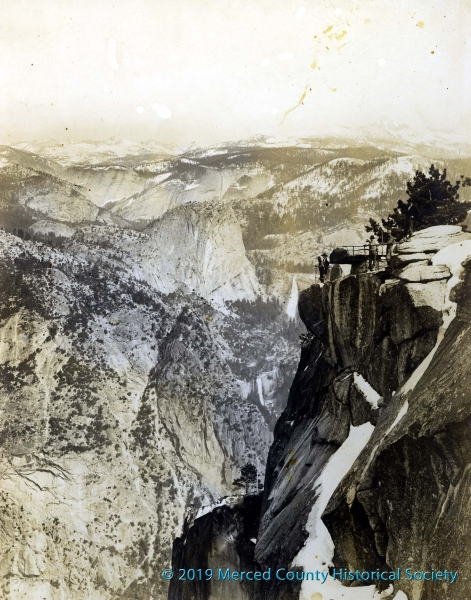 Glacier Point by Julius Boysen, circa 1900s